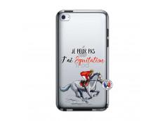 Coque iPod Touch 4 Je Peux Pas J Ai Equitation