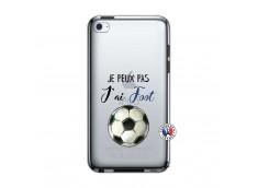 Coque iPod Touch 4 Je peux pas j'ai Foot