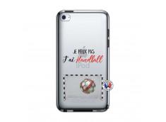 Coque iPod Touch 4 Je peux pas j'ai Handball