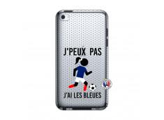Coque iPod Touch 4 Je Peux Pas J Ai Les Bleues Maillot