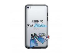 Coque iPod Touch 4 Je Peux Pas J Ai Natation