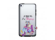 Coque iPod Touch 4 Je Peux Pas J Ai Shopping