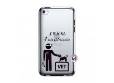 Coque iPod Touch 4 Je Peux Pas Je Suis Veterinaire