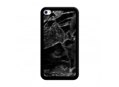 Coque iPod Touch 4 Black Marble Noir