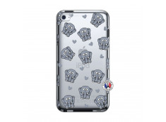 Coque iPod Touch 4 Petits Elephants