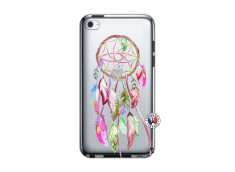 Coque iPod Touch 4 Pink Painted Dreamcatcher