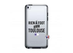 Coque iPod Touch 4 Rien A Foot Allez Toulouse