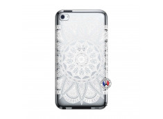 Coque iPod Touch 4 White Mandala