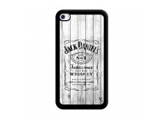 Coque iPod Touch 4 White Old Jack Noir