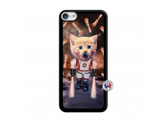 Coque iPod Touch 5/6 Cat Nasa Noir