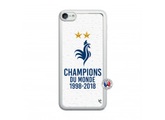 Coque iPod Touch 5/6 Champion Du Monde Translu