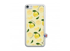 Coque iPod Touch 5/6 Sorbet Citron Translu
