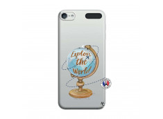 Coque iPod Touch 5/6 Globe Trotter