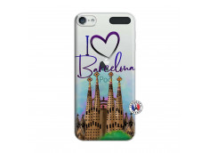 Coque iPod Touch 5/6 I Love Barcelona