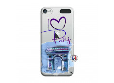 Coque iPod Touch 5/6 I Love Paris Arc Triomphe