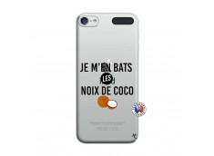 Coque iPod Touch 5/6 Je m'en bats Les Noix De Coco