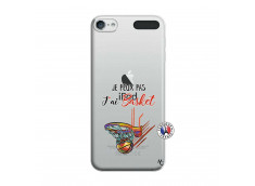 Coque iPod Touch 5/6 Je Peux Pas J Ai Basket