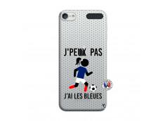 Coque iPod Touch 5/6 Je Peux Pas J Ai Les Bleues Maillot