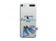 Coque iPod Touch 5/6 Je Peux Pas J Ai Natation