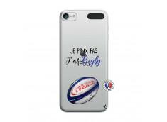 Coque iPod Touch 5/6 Je Peux Pas J Ai Rugby