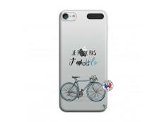 Coque iPod Touch 5/6 Je Peux Pas J Ai Velo