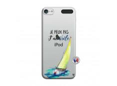 Coque iPod Touch 5/6 Je Peux Pas J Ai Voile
