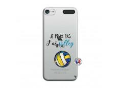Coque iPod Touch 5/6 Je Peux Pas J Ai Volley