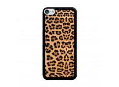 Coque iPod Touch 5/6 Leopard Style Noir