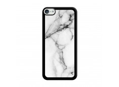 Coque iPod Touch 5/6 White Marble Noir