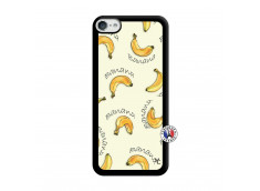Coque iPod Touch 5/6 Sorbet Banana Split Noir