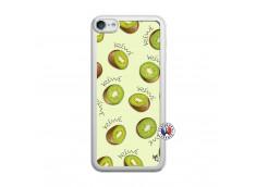 Coque iPod Touch 5/6 Sorbet Kiwi Translu