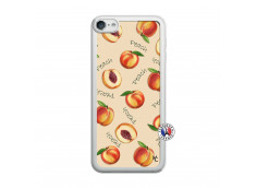 Coque iPod Touch 5/6 Sorbet Pêche Translu