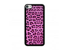 Coque iPod Touch 5/6 Pink Leopard Noir