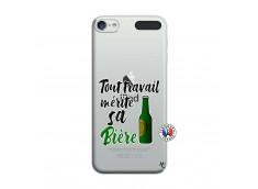 Coque iPod Touch 5/6 Tout Travail Merite Sa Biere