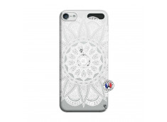 Coque iPod Touch 5/6 White Mandala