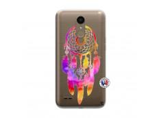 Coque Lg K10 Dreamcatcher Rainbow Feathers