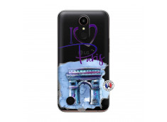 Coque Lg K10 I Love Paris Arc Triomphe