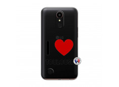 Coque Lg K10 I Love Toulouse