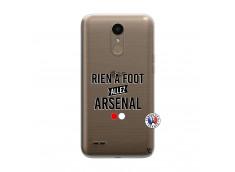 Coque Lg K10 Rien A Foot Allez Arsenal