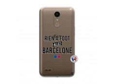 Coque Lg K10 Rien A Foot Allez Barcelone