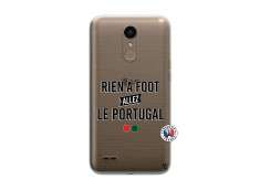 Coque Lg K10 Rien A Foot Allez Le Portugal