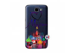 Coque Lg K4 I Love Moscow