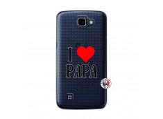 Coque Lg K4 I Love Papa