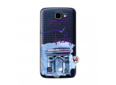 Coque Lg K4 I Love Paris Arc Triomphe