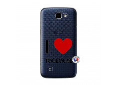 Coque Lg K4 I Love Toulouse