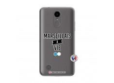 Coque Lg K4 Marseillais à Vie