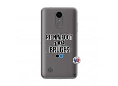 Coque Lg K4 Rien A Foot Allez Bruges