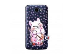 Coque Lg K4 Smoothie Cat