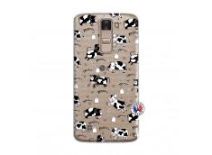Coque Lg K8 Cow Pattern