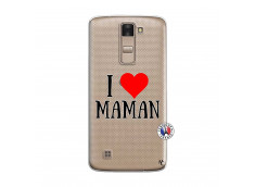 Coque Lg K8 I Love Maman